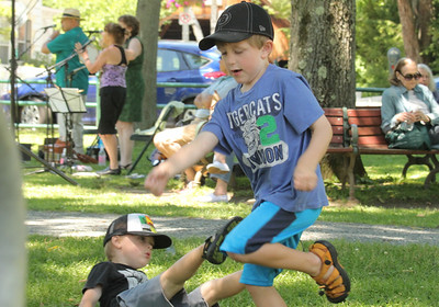 IMG_0212 JPG noah coyle,3, of reading and timothy moore,5, of woodsock, dance and frolic