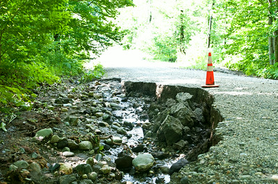 Reading Road Washouts