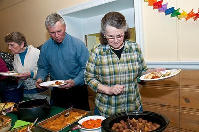 Annual WUHS Alumni Potluck Dinner and Raffle