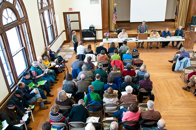 West Windsor Town Meeting 2014