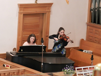 """Piano (Rebekah Martel) and Violin (Erica Steison) Duet """"The Power of Your Love"""""""