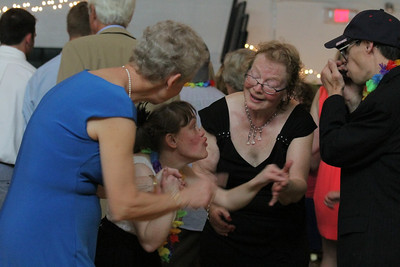 IMG_6061 JPG BEST karissa mathiessen asks fred beebe to dance with help of helen norton at left and priscilla clark in black