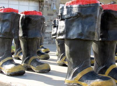 Fire Boots Awaiting