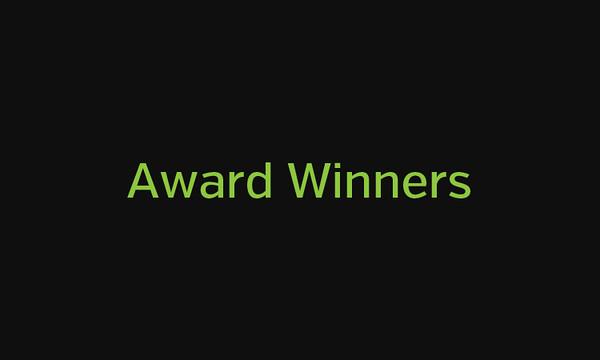 2014 Award Winners