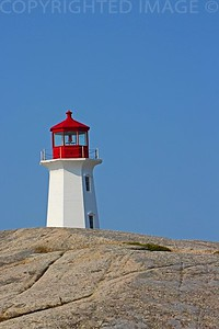 Light House within the Rock