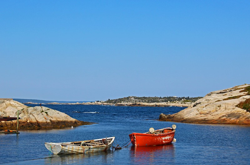 Two Boats On The Cove