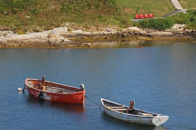 Two Boats In The Cove