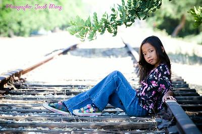 Eliana's Photo Shoot:  June 21, 2014