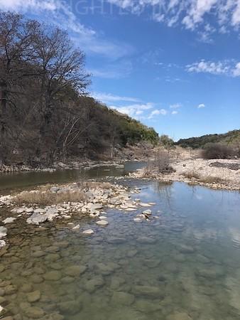 Texas Creek Bed