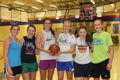 Northland Pines Girls Basketball Practice & Letterwinners