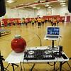 David Lee/Columbia-Greene Media<br /> DJ H-BomB Henry Race donated his time to keep the Sean's Run Zumbathon dancers busy.