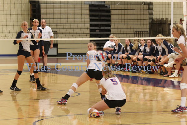 Northland Pines Volleyball vs. Tomahawk