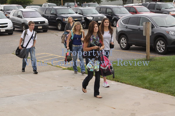 Three Lakes First Day of School 2014