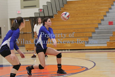 Three Lakes Volleyball, Sept. 23, 2014