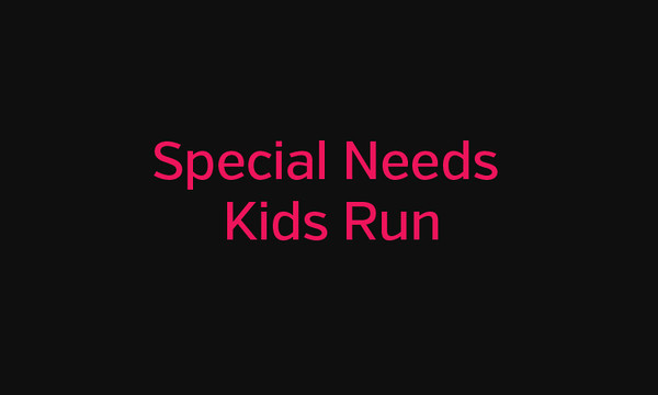 2014 Special Needs Kids Run