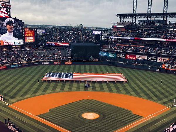 Baseball National Anthem