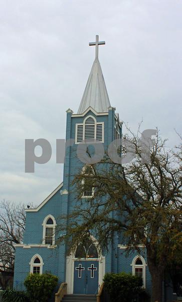 LBJ Blue Church