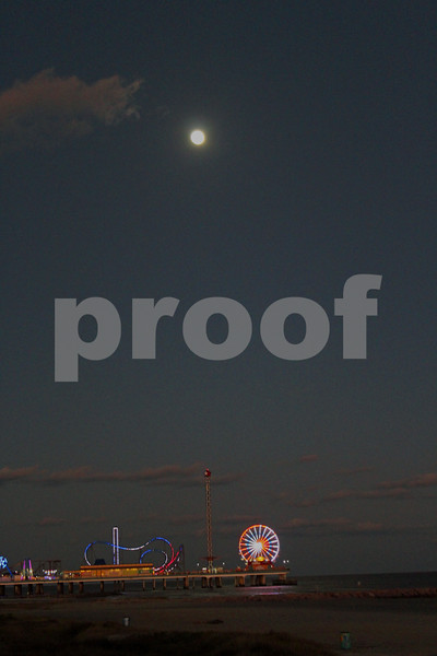 Moon Over Pleasure Pier