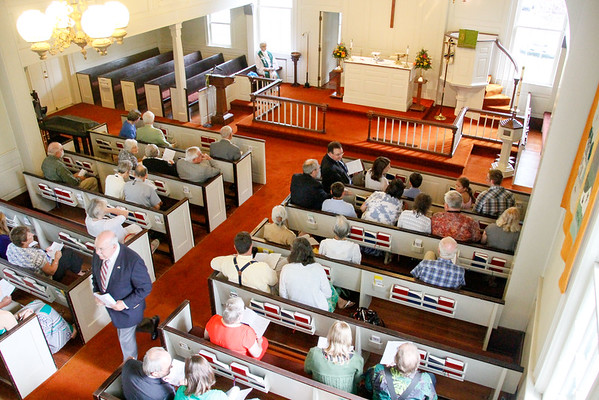2014 Germanna Reunion - Hebron Church in Madison , VA
