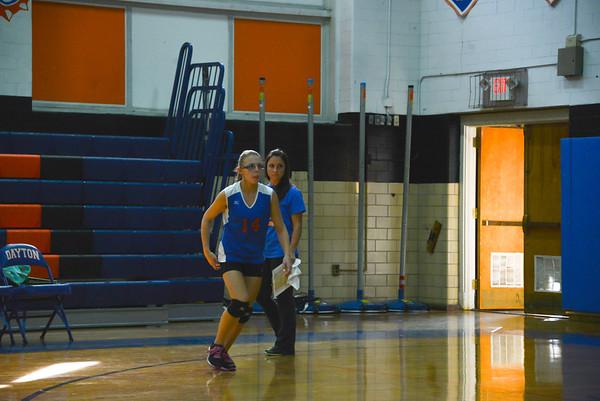 2014-09-15 Dayton Girls Varsity Volleyball vs South Plainfield #1 of 2