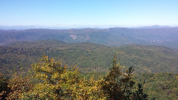 Top of Skyuka Mountain