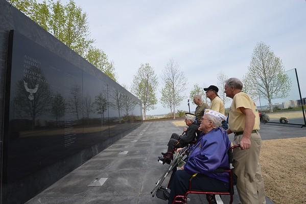 Air Force Memorial April