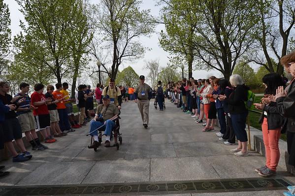 WWII Memorial April