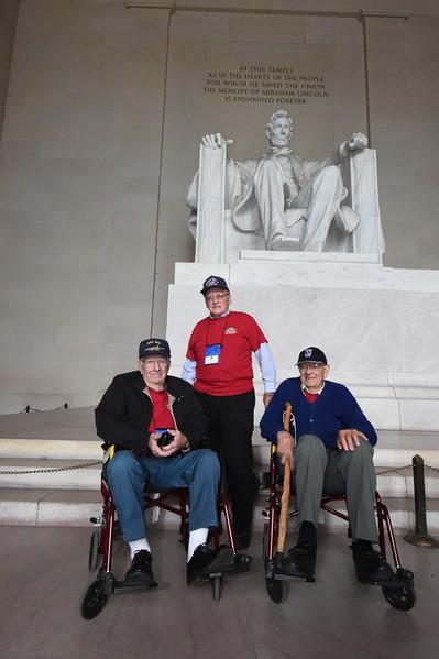 Lincoln And Washington Memorials October 11