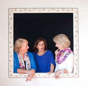 20140308 Mary, Paula and Anne at Craig & Genee wedding booth _MG_9760