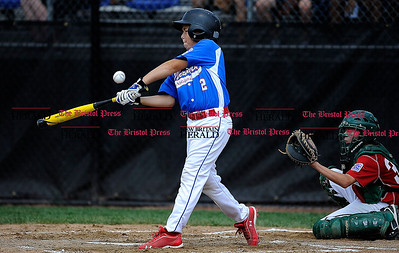 8/1/2014 Mike Orazzi | Staff Delaware's Will Dubecq (2) during a win over Maryland at Breen Field in Bristol on Friday.