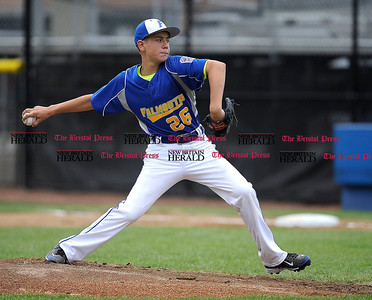 8/1/2014 Mike Orazzi | Staff Maine's Alexander Smith (26) on the mound against New Hampshire at Breen Field in Bristol on Friday.