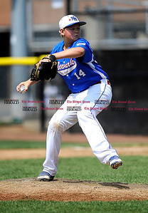8/1/2014 Mike Orazzi | Staff Delaware's AJ Blanchard (14) during a win over Maryland at Breen Field in Bristol on Friday.