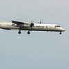 Porter Airlines Q400 landing on runway 14 (no info available)