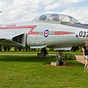 McDonnell CF-101B Vodoo from 416 Lynx squadron in CFB Chatham