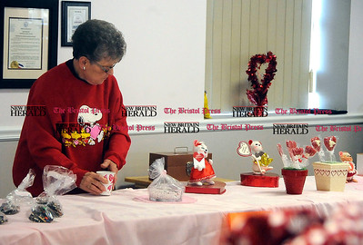 2/1/2014 Mike Orazzi | Staff  Helen Locks during the 11th Annual Valentine Chocolate Festival held at the Southington American Legion Saturday.