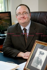 *With story by Lisa* Kevin Bartram | Staff States Attorney Brian Preleski in his office at the New Britain courthouse on Tuesday.