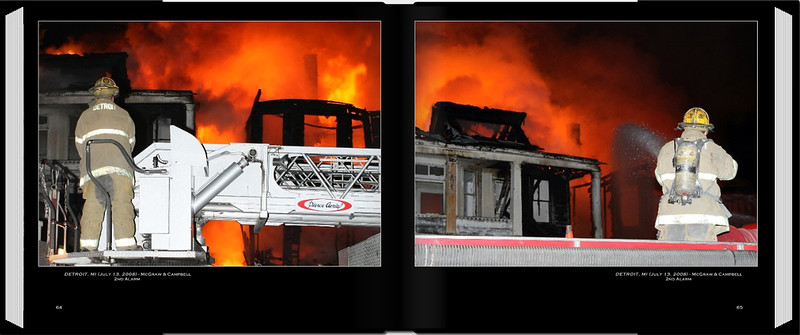 PAGE 64-65 <br /> DETROIT, MI (July 13, 2008)<br /> McGraw & Campbell 2nd Alarm