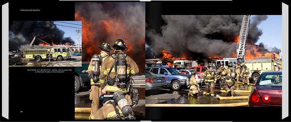 PAGE 30-31 <br /> MILFORD, CT (MARCH 31, 2009)<br /> 4th Alarm Fire at Milford Fabricating Company