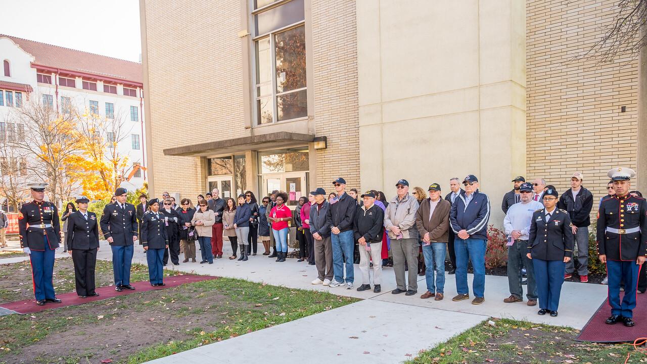 111014_6802_Veterans Day Flag Raising