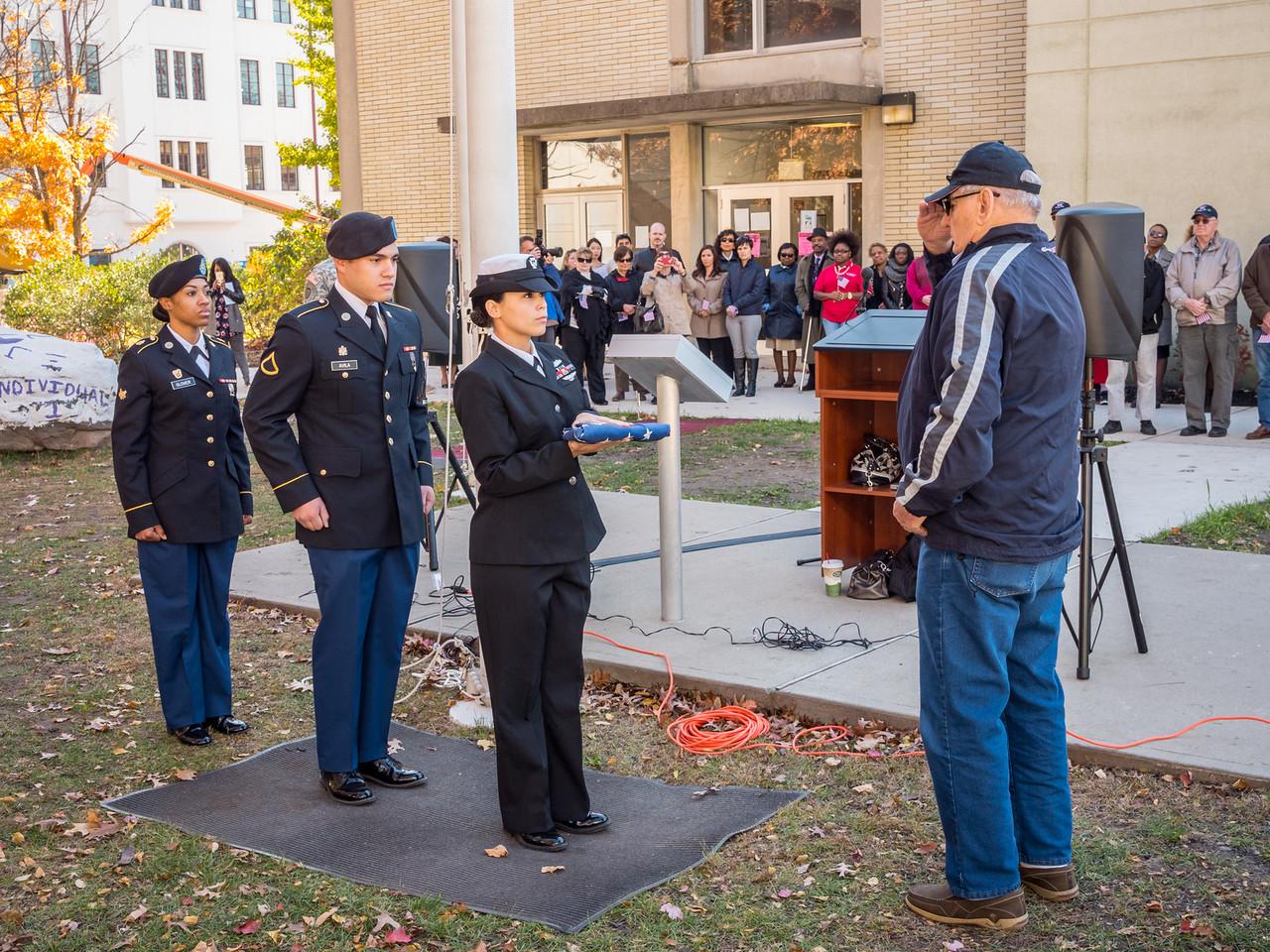 111014_6701_Veterans Day Flag Raising