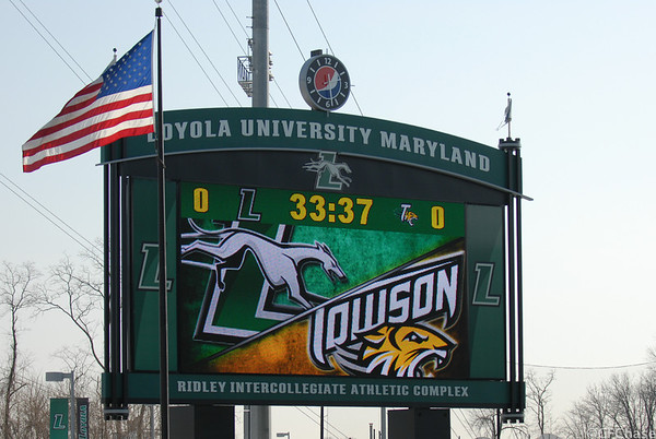 Loyola v Towson 02.19.14
