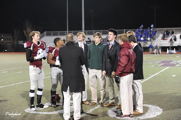 2014 MBA Varsity Football Playoffs vs McCallie