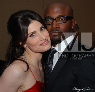 Taye Diggs and Idina Menzel NYC Margot Jordan Photo All Rights Reserved