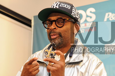 Spike Lee lends support at  SOS: BET Telethon for Haiti American Airlines Arena Miami, Florida USA Superbowl Weekend Margot Jordan Photo All Rights Reserved