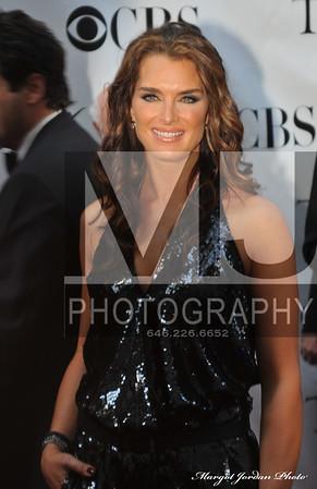 Brooke Shields Tony Awards NYC  Margot Jordan Photo All Rights Reserved