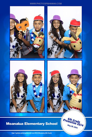 2014 Moanalua 6th Grade Promotion (Luxe Photo Booth)