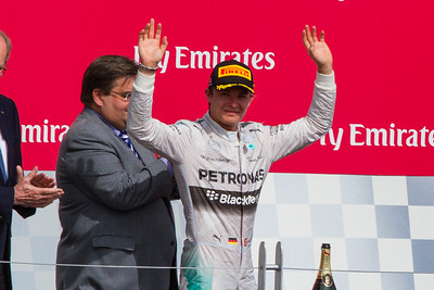 Pts Leader After Montreal, Nico Rosberg