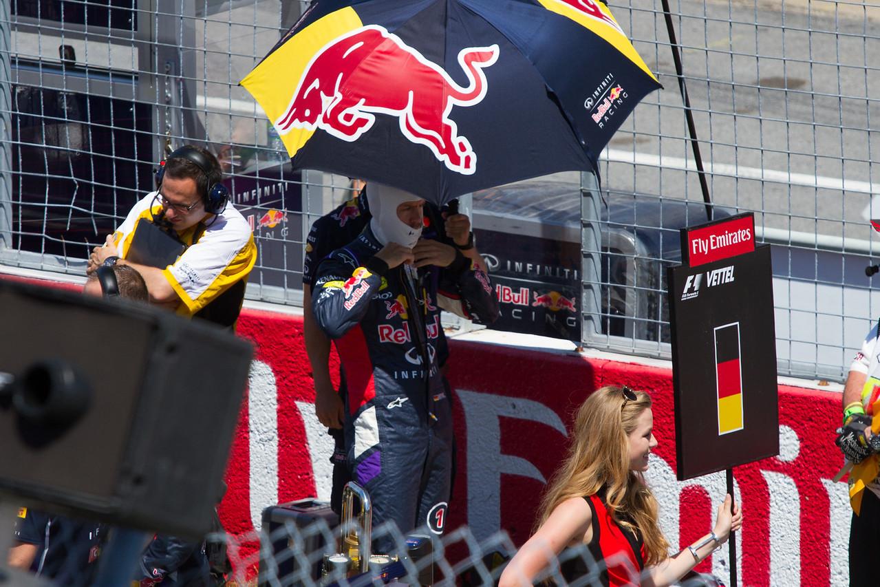 Vettel Gearing Up