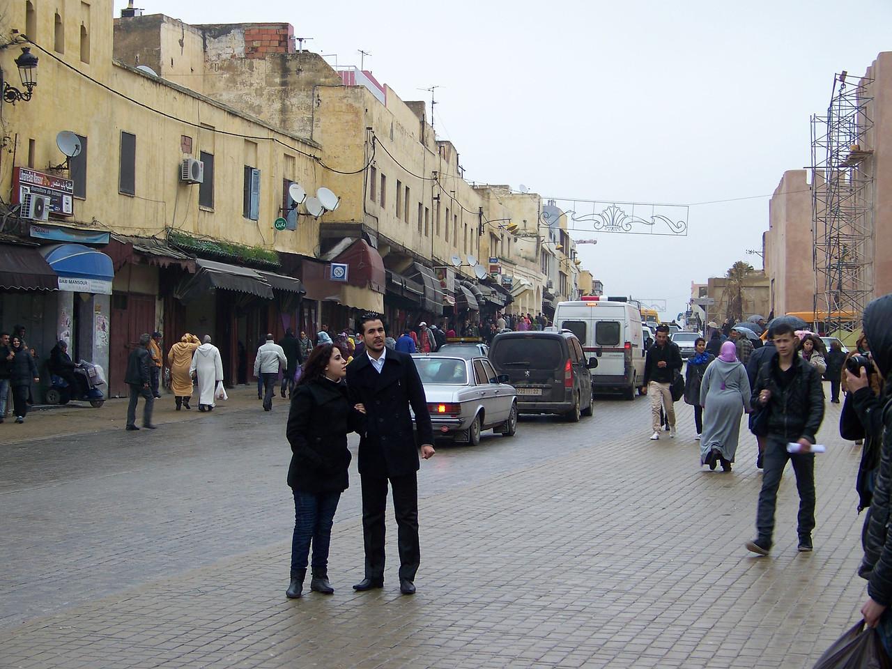 0040 - Street in the Medina - Meknes Morocco.JPG