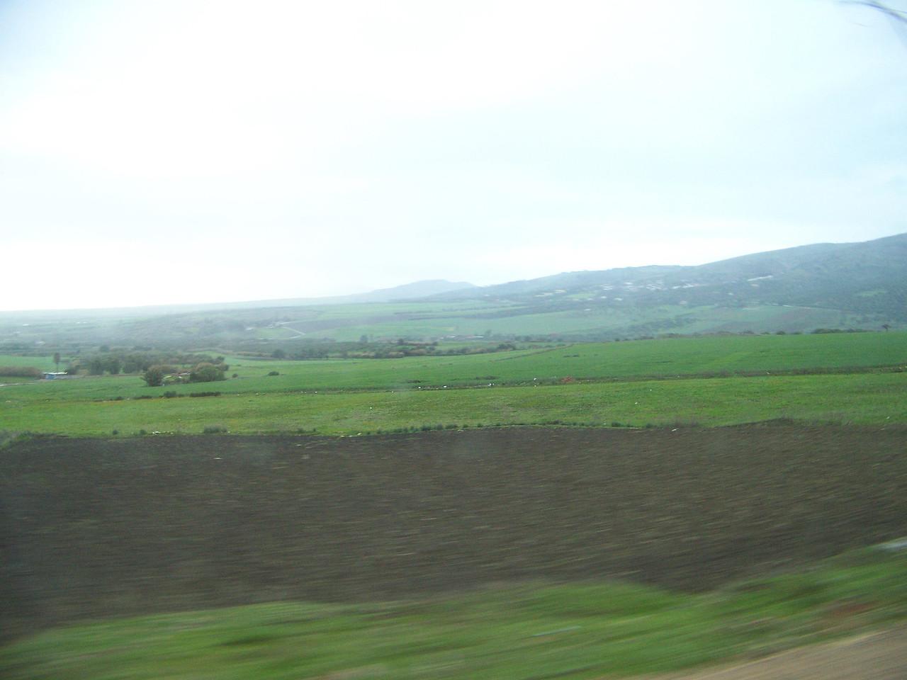 0047 - Countryside on Hwy N13 Between Meknes and Volubilis - Morocco.JPG